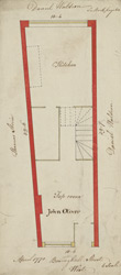 [Plan of property on Basinghall Street] 115J